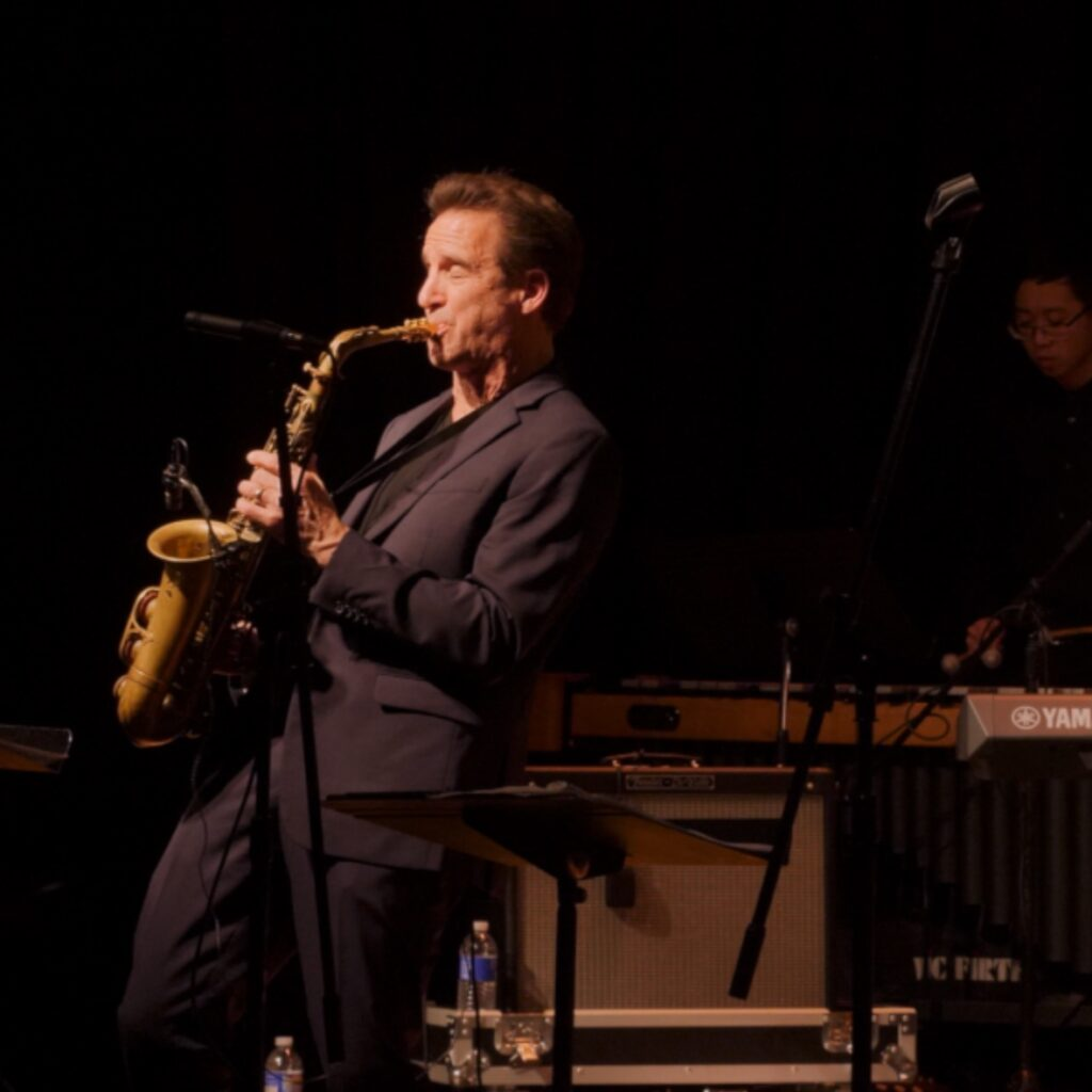 Capturing an amazing performance by two time grammy award winning saxophonist Eric Marienthal